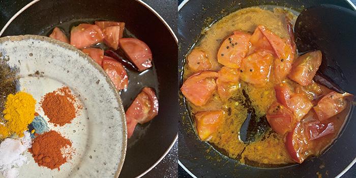 不動,たける,たけちゃんねる,レシピ,トマト,インド漬物,アチャール,スパイス