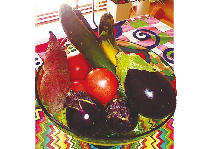スキコミ,夏美人,マイブーム,ピーリング,マッサージ,夏野菜,ストレッチ,梅酢,足つぼ