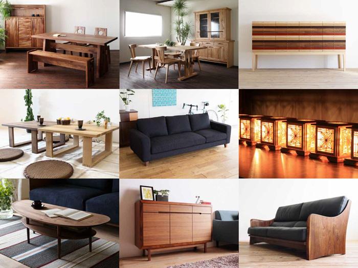 大川,木工,まつり,リモート,家具,オークション,プレゼント