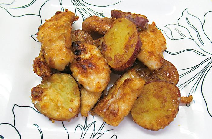 レシピ,料理,美肌,食材,美容,効果,サツマイモ,ポリフェノール,鮭,オメガ3脂肪酸
