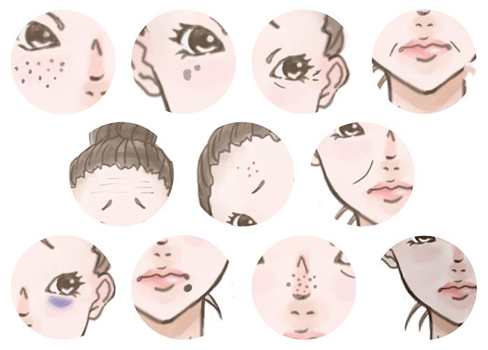 スキンケア,毛穴,黒ずみ,クレンジング,美肌,ゆるみ,シミ,くすみ,シワ,紫外線