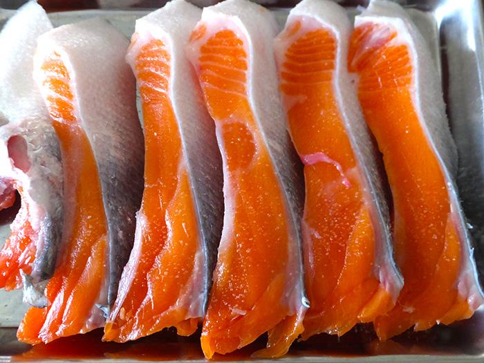 レシピ,レンコン,美肌,ヘルシー,シャケ,鮭,キノコ,アスタキサンチン,食物繊維,ビタミン
