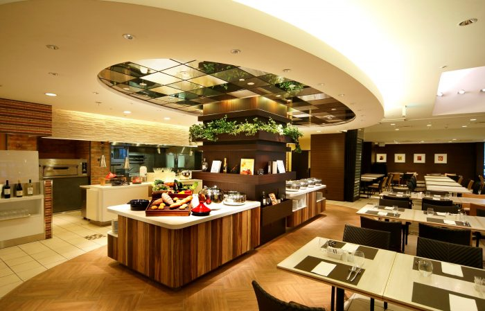 クラウンカフェ,ANAクラウンプラザホテル,デザートビュッフェ,ガーデンピクニック