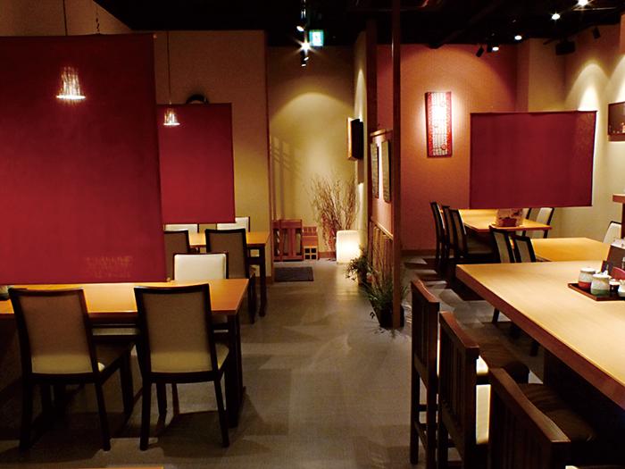 福岡,飲食店,雅,博多駅,和食,店内