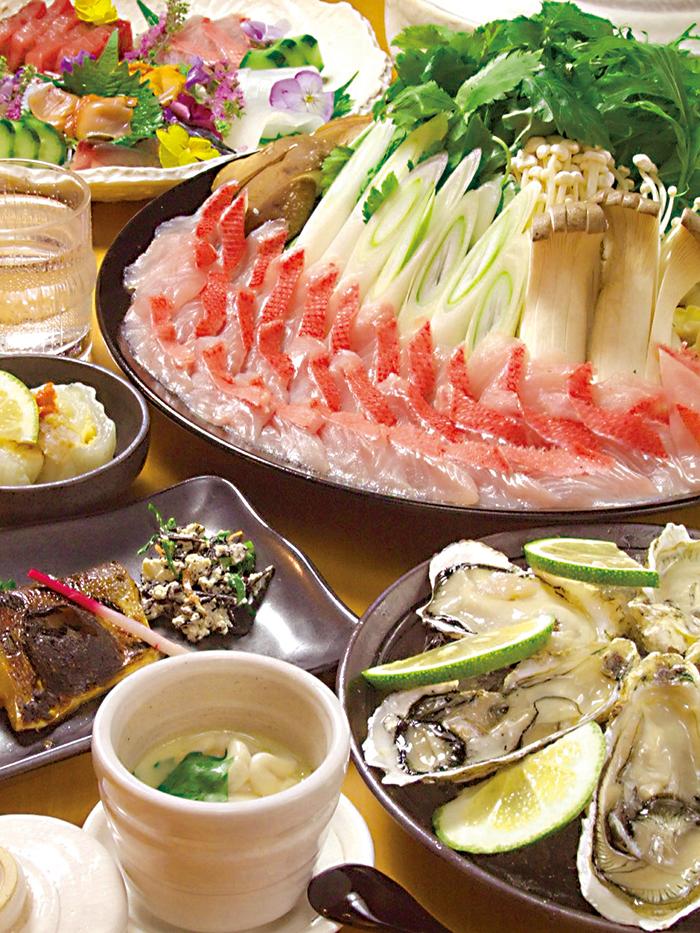 福岡,飲食店,雅,博多駅,和食,旬魚しゃぶ鍋