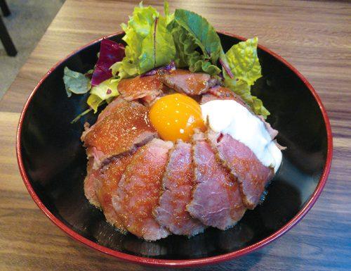 牛の尾,佐賀牛,今泉,ローストビーフ丼