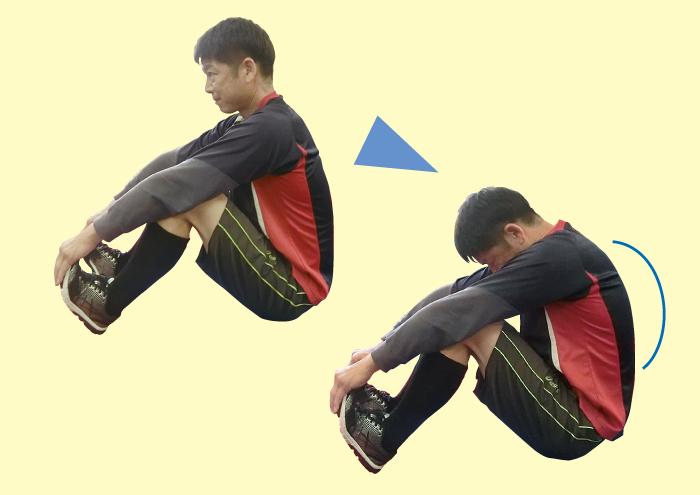 体幹,トレーニング,背中,COLABO,猪俣龍巳,福岡,姿勢