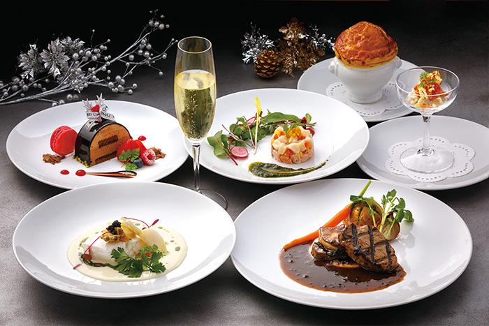 レッドフランマ,ソラリア,西鉄ホテル,最上階,レストラン,福岡,クリスマス,ディナー
