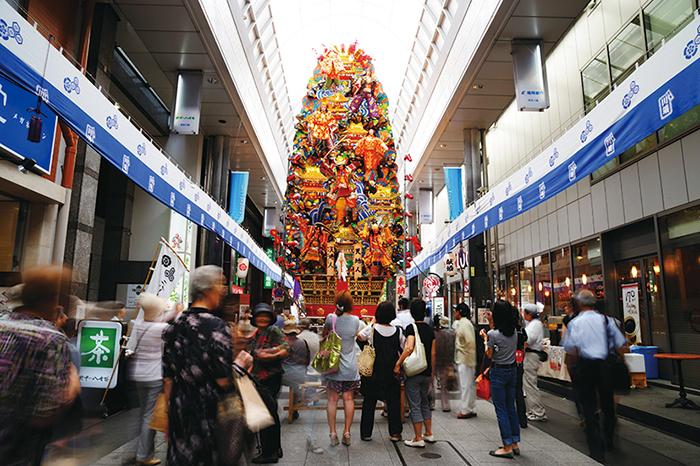 福岡,観光,川端商店街,レトロ,散策,ぎんなん通り,ぜんざい,かろのうどん
