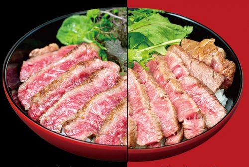 佐賀牛,牛の尾,今泉,食べ比べ丼,佐賀牛