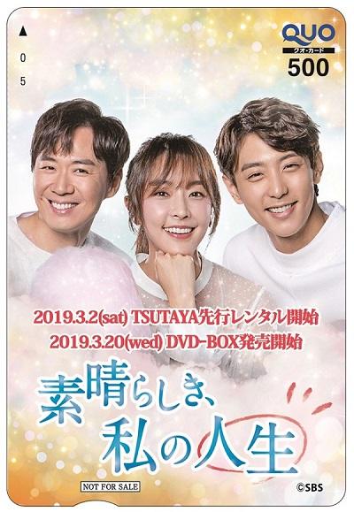 プレゼント,DVD,素晴らしき,私の人生,韓国,ドラマ