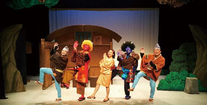英語劇,ないた赤おに,The Red Monster Cried,甘棠館Show劇場,劇団,ショーマンシップ,事務所
