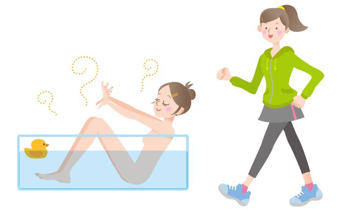 汗,汗腺機能,入浴,有酸素運動,生姜,酢,元気,ライフ,サポート,黒酢