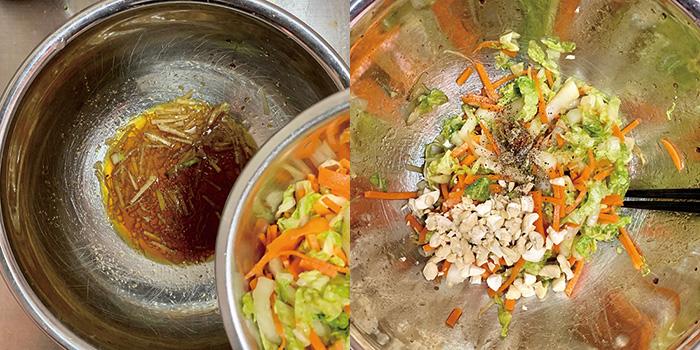 不動,たける,たけちゃんねる,レシピ,白菜,エスニック,サラダ