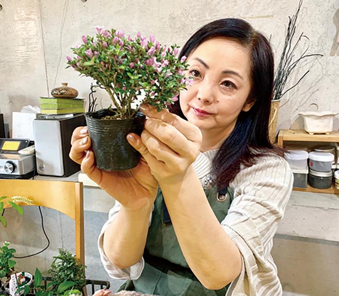不動,たける,たけちゃんねる,盆栽,教室,オシャレ,てのひら,櫻苑