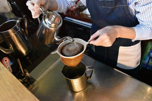 シェリル,大名,エイジングコーヒー,ベニール,カフェ