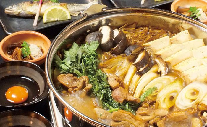 福岡,飲食店,雅,博多駅,和食,地鶏のすき焼き