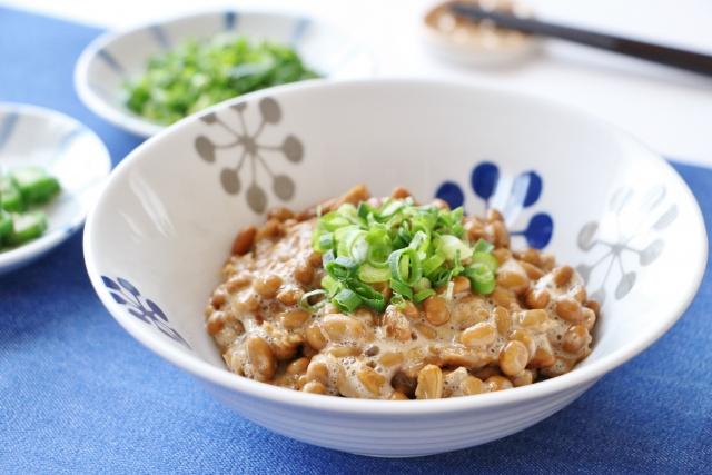 納豆,ナットウキナーゼ,腸活,便秘,腸内フローラ