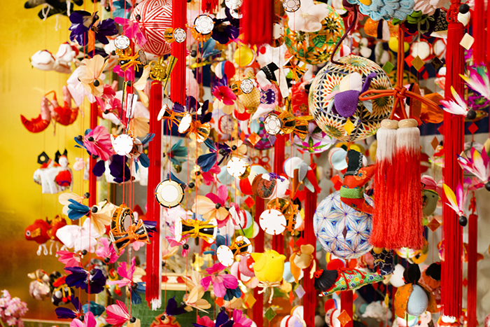 SKIP,ファッション,倶楽部,大手門店,雛祭り,フェア,開催,さげもん