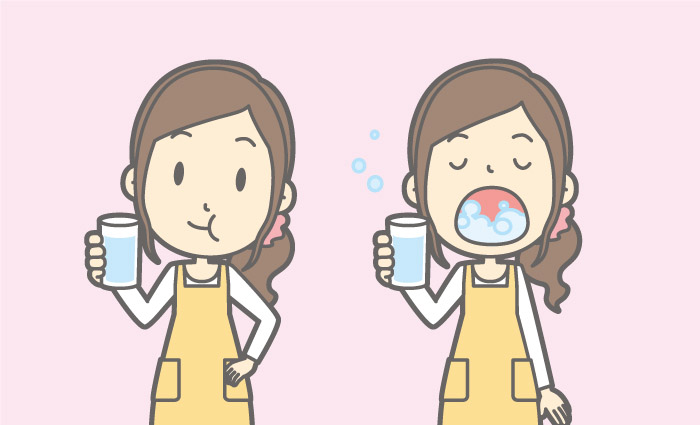 記者コラム,うがい,ほうれい線,口臭対策,歯周病,美容,シワ対策