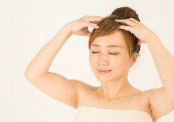 お疲れ頭皮を癒して、頭スッキリ、たるみもアップ。