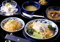 夏の特別メニュー「棒々鶏冷麺」