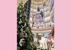 切り絵がテーマのイムズのクリスマス!